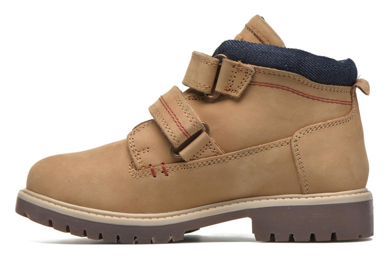 Bottines et boots Levi's Pimento Beige vue face
