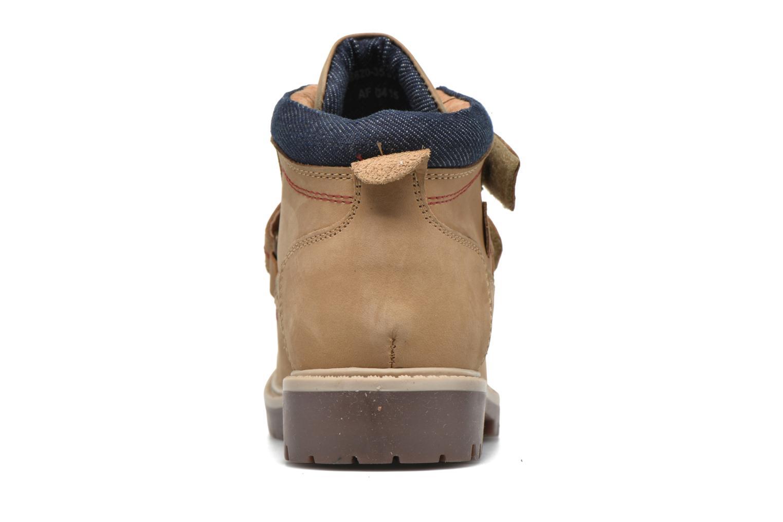 Bottines et boots Levi's Pimento Beige vue droite