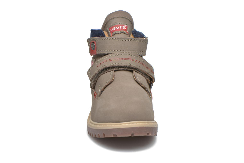 Bottines et boots Levi's Pimento Gris vue portées chaussures