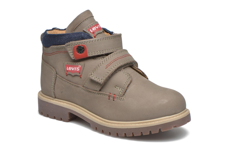 Bottines et boots Levi's Pimento Gris vue détail/paire