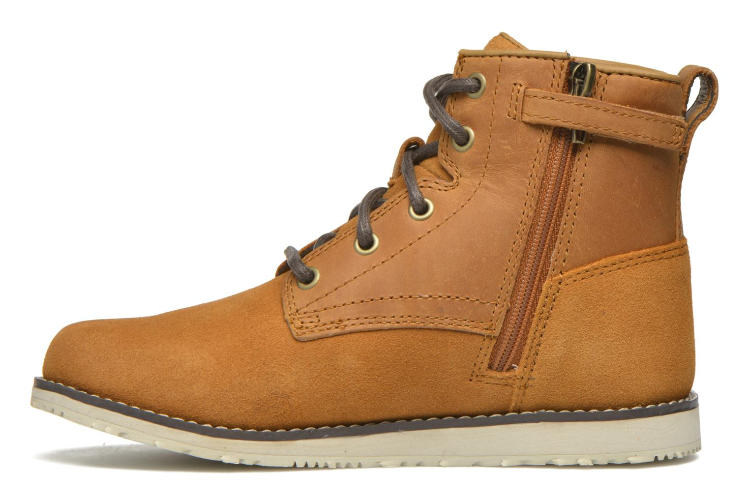 Bottines et boots Timberland Newmarket Boot Marron vue face