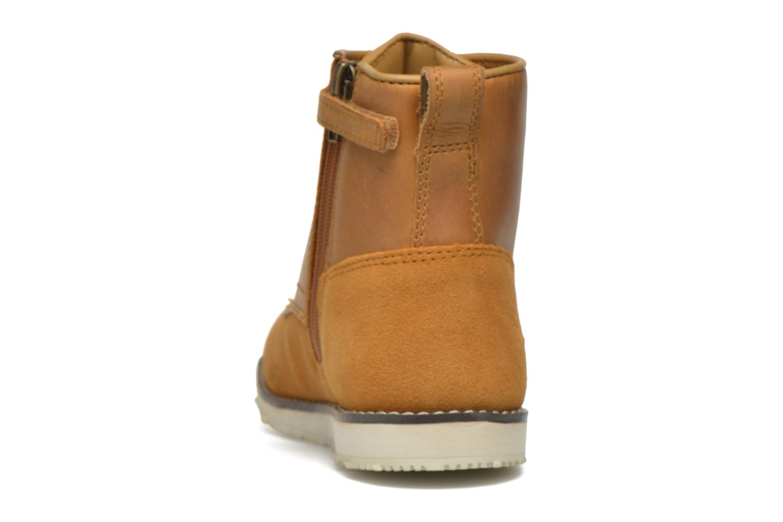 Newmarket Boot Wheat Saddleback