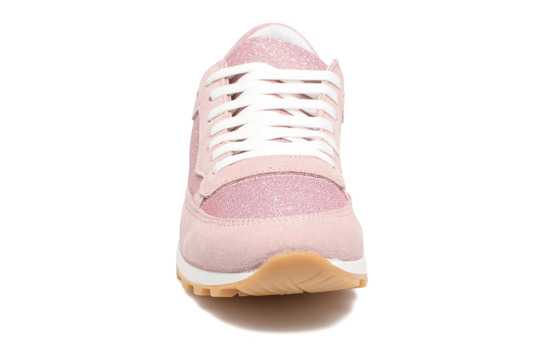 Baskets Georgia Rose Skipo Rose vue portées chaussures