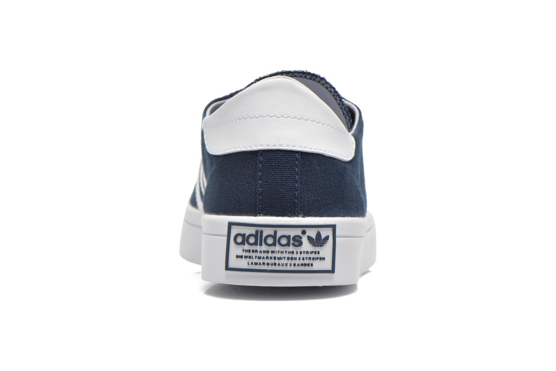 Sneakers Adidas Originals Court Vantage Blauw rechts