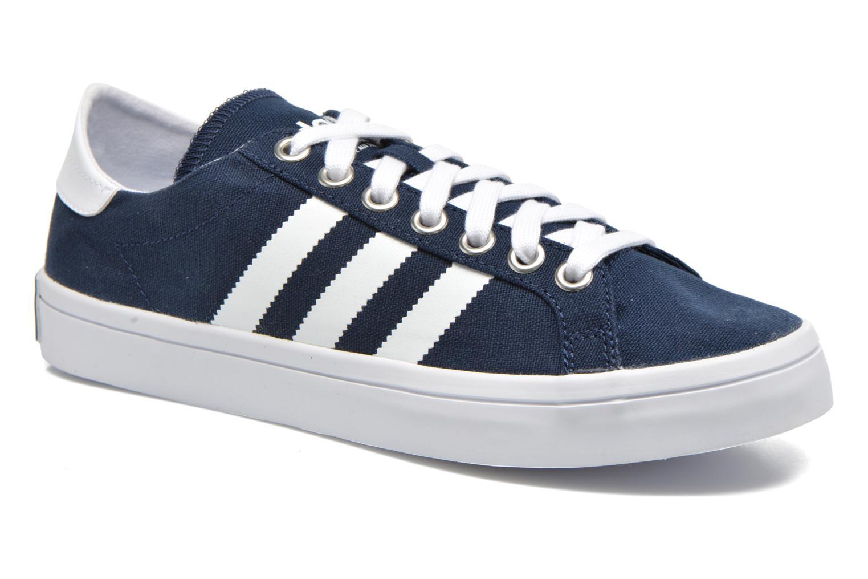 Sneakers Adidas Originals Court Vantage Blauw detail