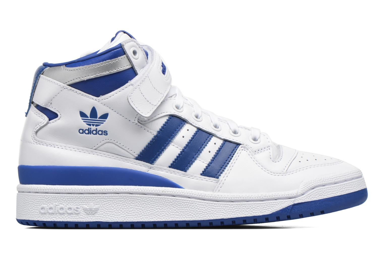 Baskets Adidas Originals Forum Mid Refined Blanc vue derrière