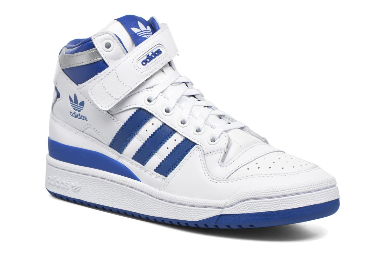 Sneakers Adidas Originals Forum Mid Refined Wit detail