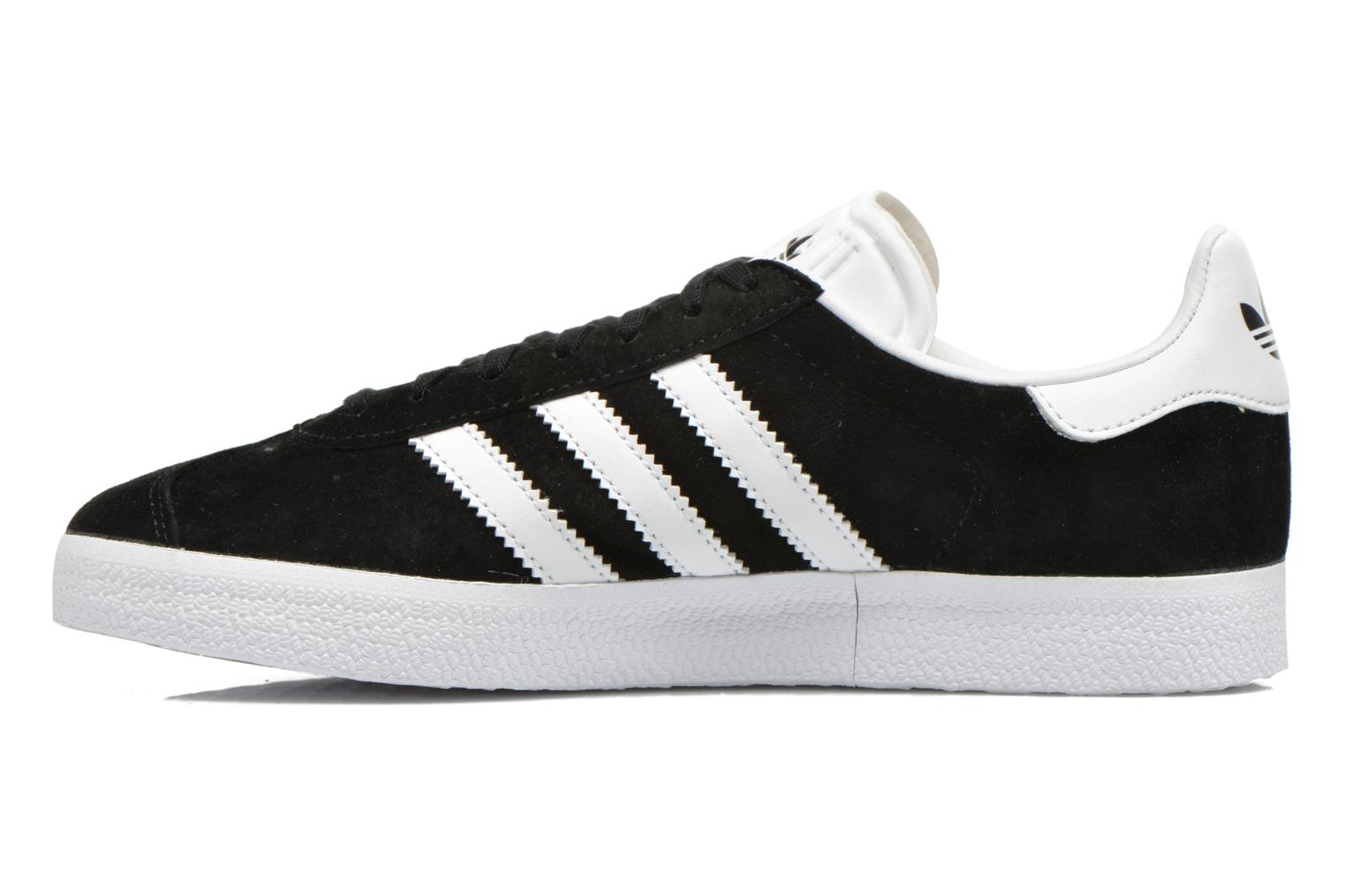 Baskets Adidas Originals Gazelle W Noir vue face