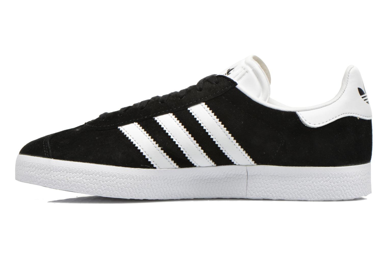 Baskets Adidas Originals Gazelle W Noir vue face