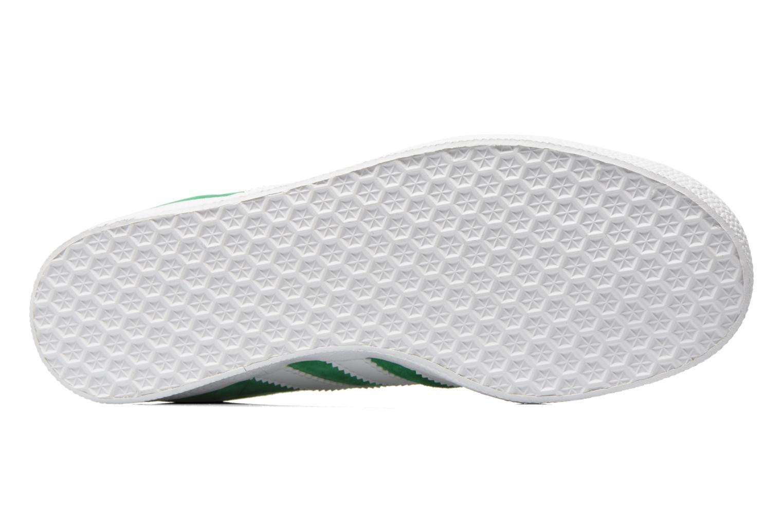 Baskets Adidas Originals Gazelle W Vert vue haut
