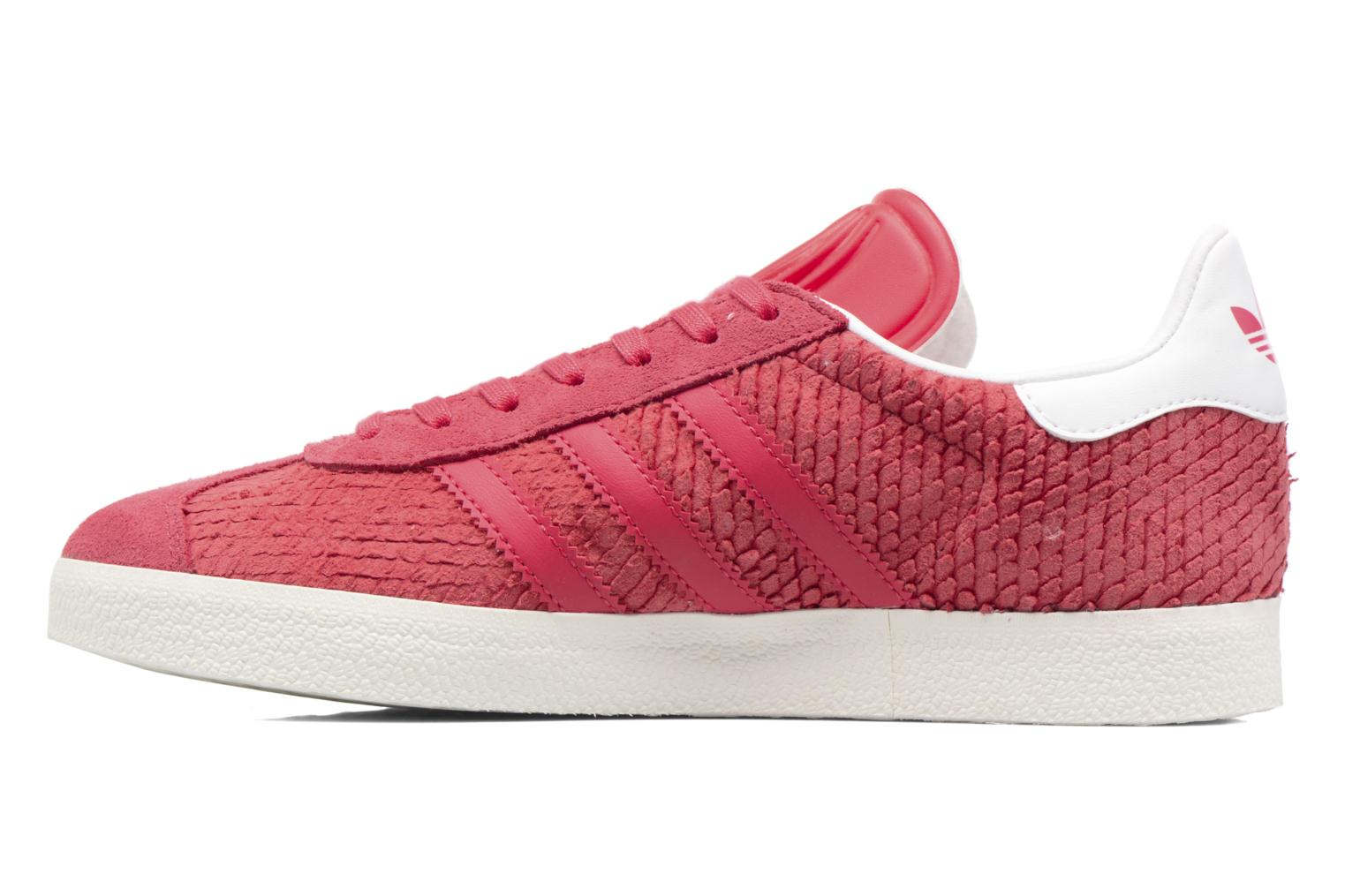Sneakers Adidas Originals Gazelle W Rosso immagine frontale