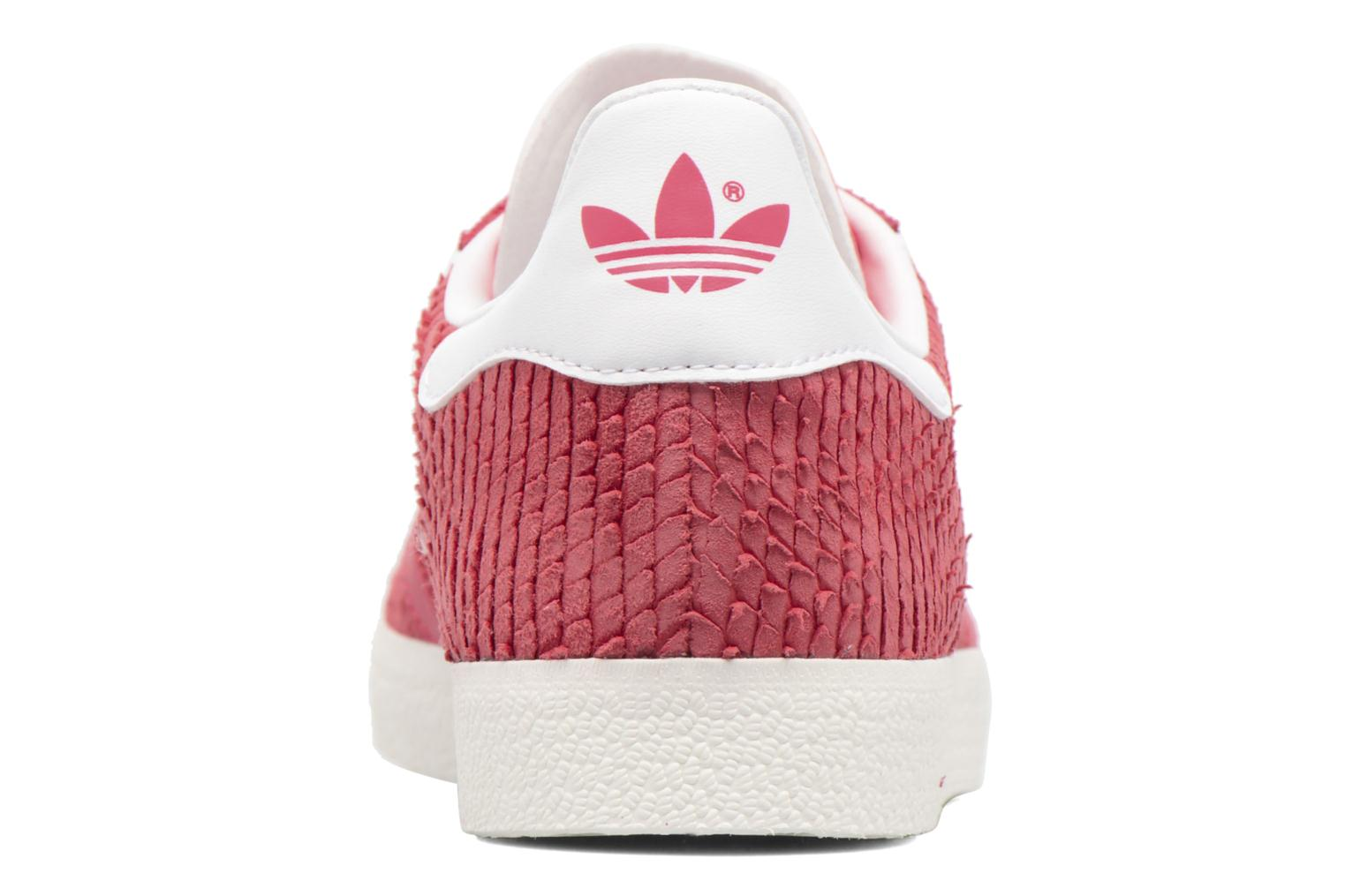 Baskets Adidas Originals Gazelle W Rouge vue droite