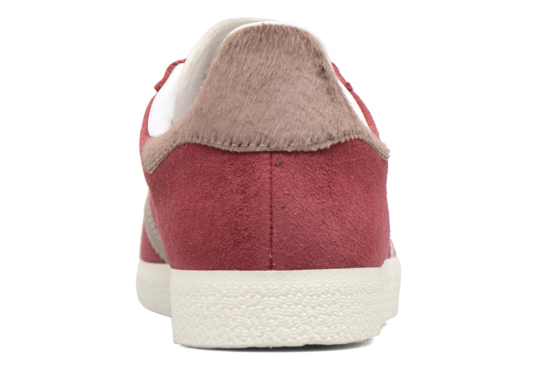 Sneakers Adidas Originals Gazelle W Bordò immagine destra