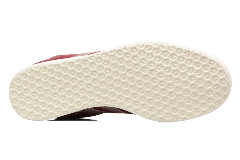 Sneakers Adidas Originals Gazelle W Bordò immagine dall'alto