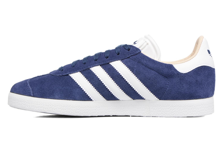 Sneakers Adidas Originals Gazelle W Blauw voorkant