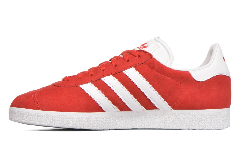 Baskets Adidas Originals Gazelle Rouge vue face