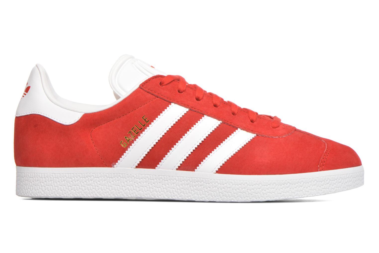 Baskets Adidas Originals Gazelle Rouge vue derrière