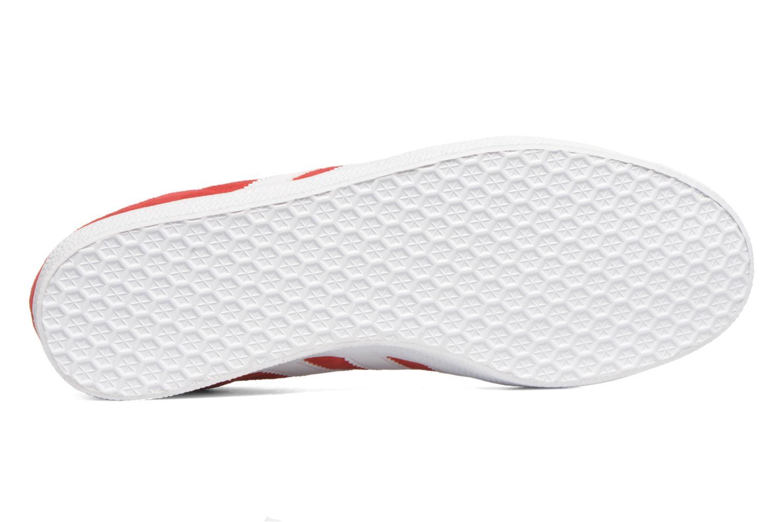 Sneakers Adidas Originals Gazelle Rood boven