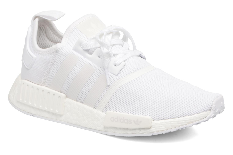 Sneakers Adidas Originals Nmd_R1 Vit detaljerad bild på paret