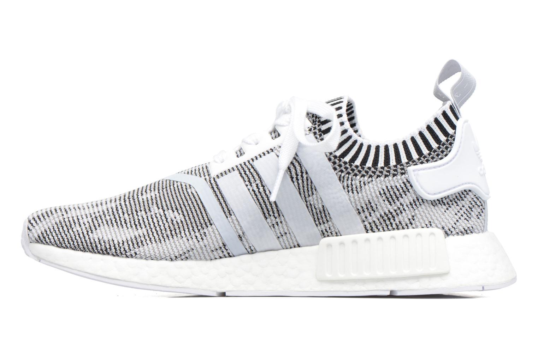 Sneaker Adidas Originals Nmd_R1 Pk grau ansicht von vorne