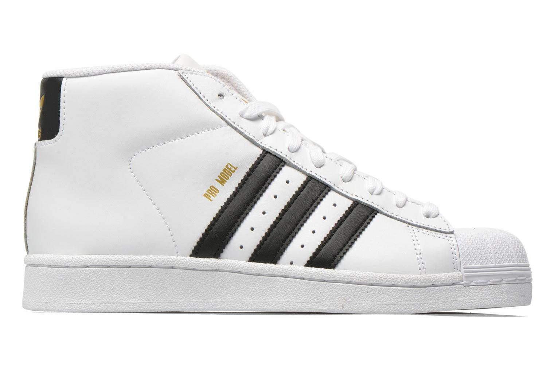Baskets Adidas Originals Pro Model Blanc vue derrière