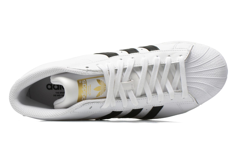 Baskets Adidas Originals Pro Model Blanc vue gauche