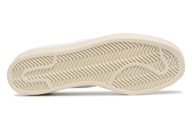 Baskets Adidas Originals Superstar 80S Pk Blanc vue haut