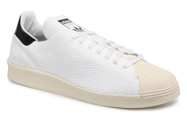 Baskets Adidas Originals Superstar 80S Pk Blanc vue détail/paire