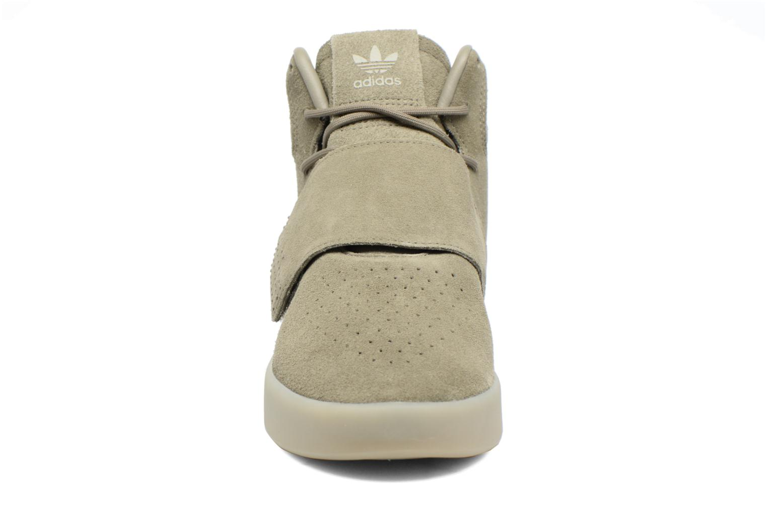 Sneakers Adidas Originals Tubular Invader Strap Groen model