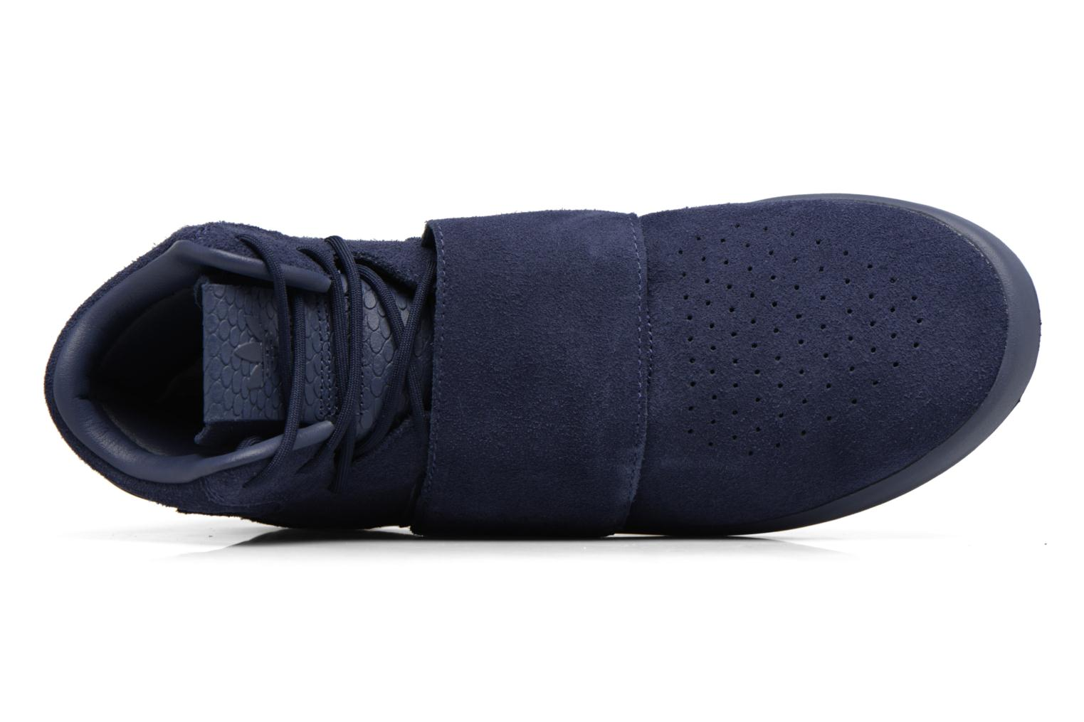 Baskets Adidas Originals Tubular Invader Strap Bleu vue gauche