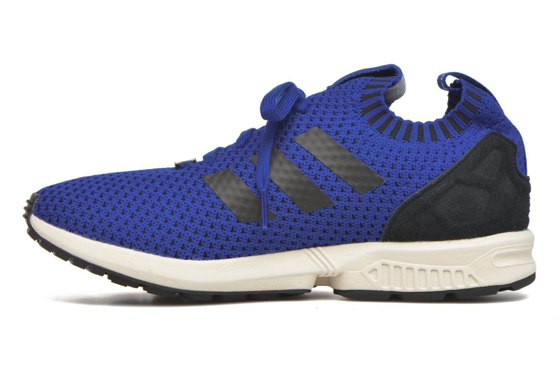 Baskets Adidas Originals Zx Flux Pk Bleu vue face