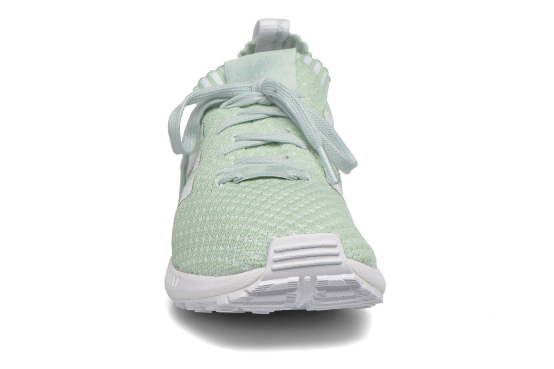 Baskets Adidas Originals Zx Flux Pk W Vert vue portées chaussures