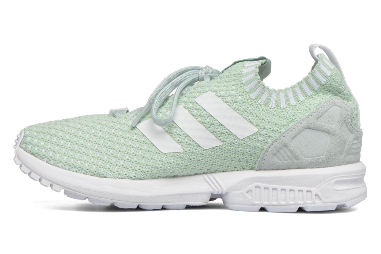 Sneakers Adidas Originals Zx Flux Pk W Verde immagine frontale