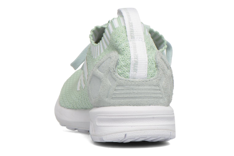 Baskets Adidas Originals Zx Flux Pk W Vert vue droite