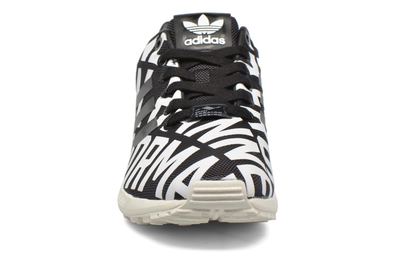 Baskets Adidas Originals Zx Flux Ro W Multicolore vue portées chaussures