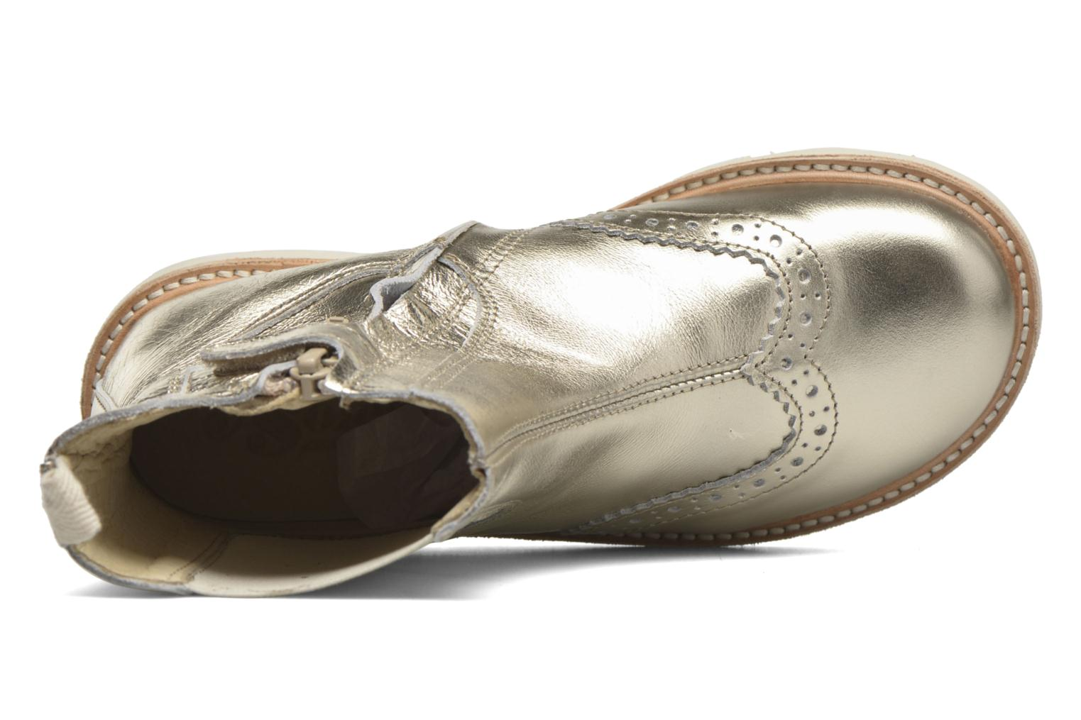 Francis Gold Leather