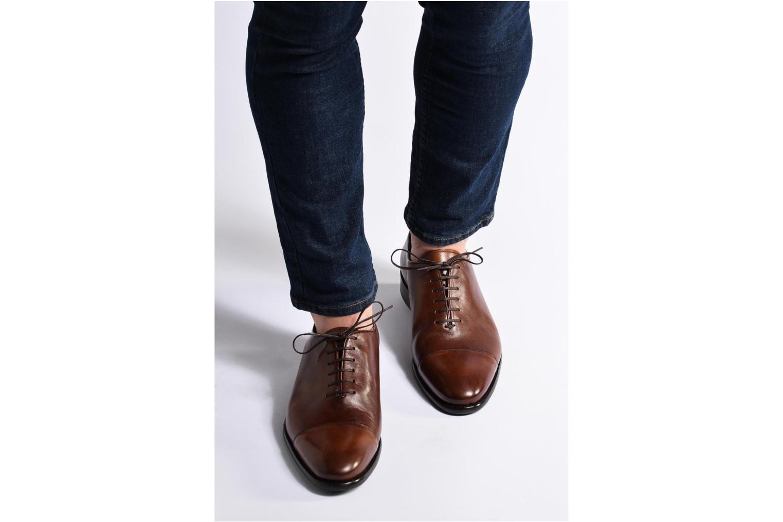 Snörade skor Marvin&Co Luxe Perchok Brun bild från under