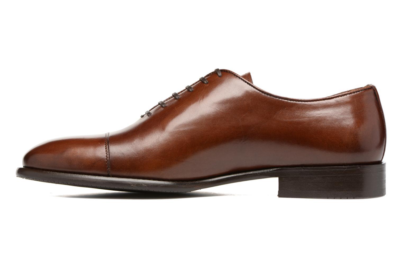 Snörade skor Marvin&Co Luxe Perchok Brun bild från framsidan