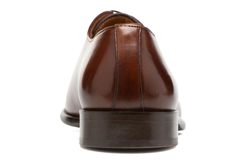 Snörade skor Marvin&Co Luxe Perchok Brun Bild från höger sidan