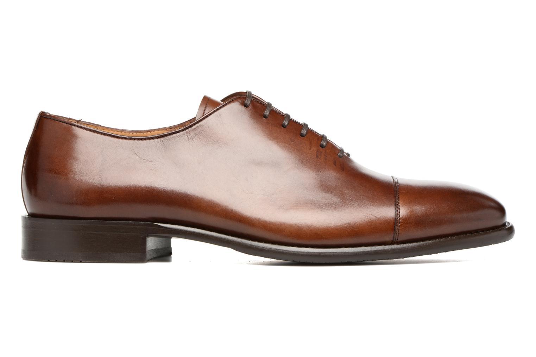 Snörade skor Marvin&Co Luxe Perchok Brun bild från baksidan