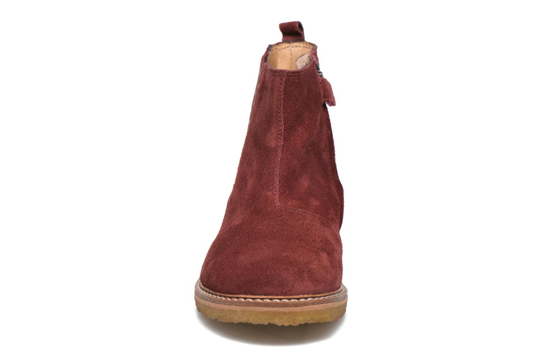 Bottines et boots Pom d Api Pat Jodzip Bordeaux vue portées chaussures