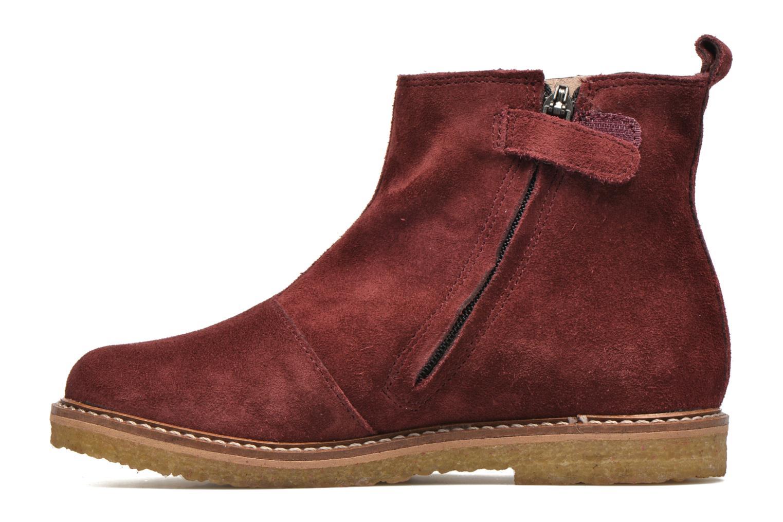 Bottines et boots Pom d Api Pat Jodzip Bordeaux vue face