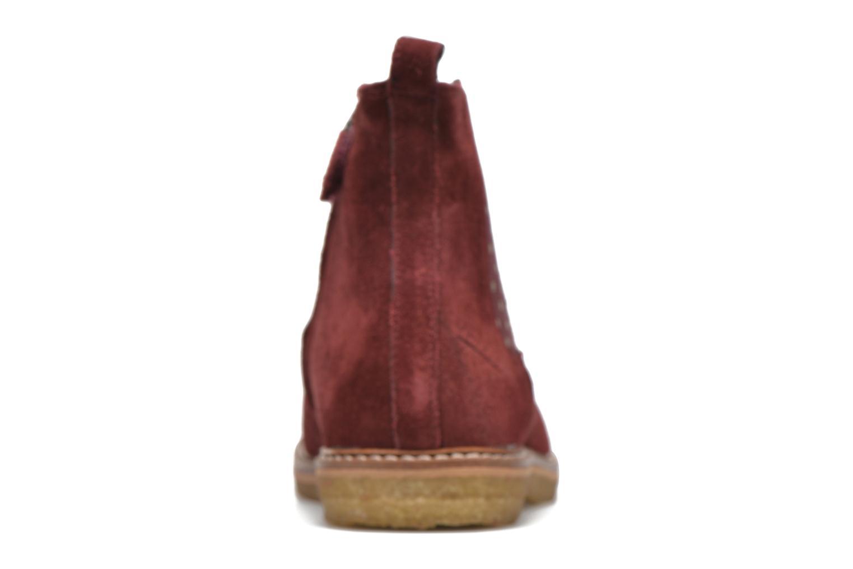Bottines et boots Pom d Api Pat Jodzip Bordeaux vue droite