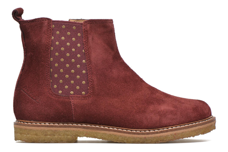 Bottines et boots Pom d Api Pat Jodzip Bordeaux vue derrière
