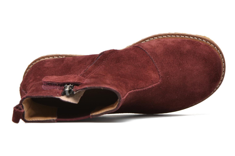 Bottines et boots Pom d Api Pat Jodzip Bordeaux vue gauche