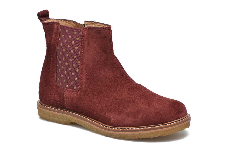 Bottines et boots Pom d Api Pat Jodzip Bordeaux vue détail/paire