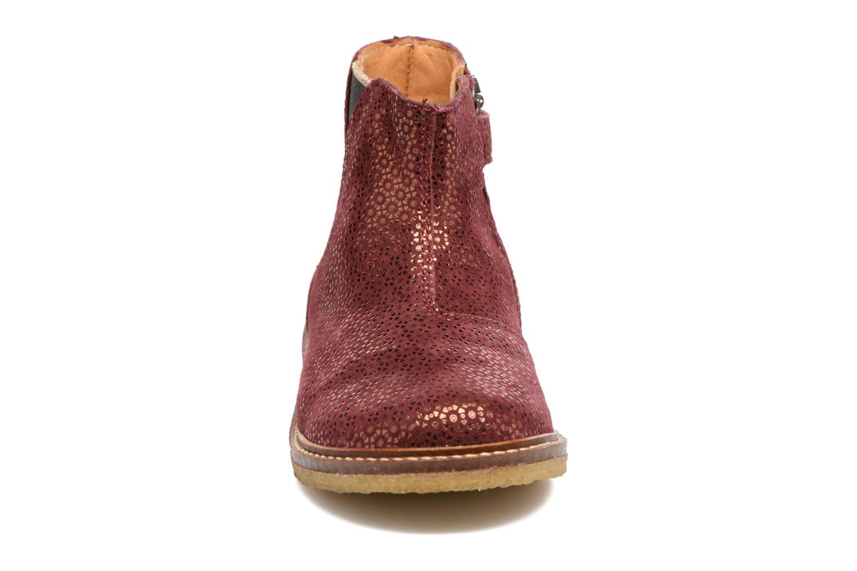 Bottines et boots Pom d Api Suzet Boots Bordeaux vue portées chaussures