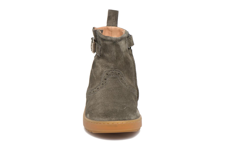 Bottines et boots Pom d Api Wouf Boots Vert vue portées chaussures