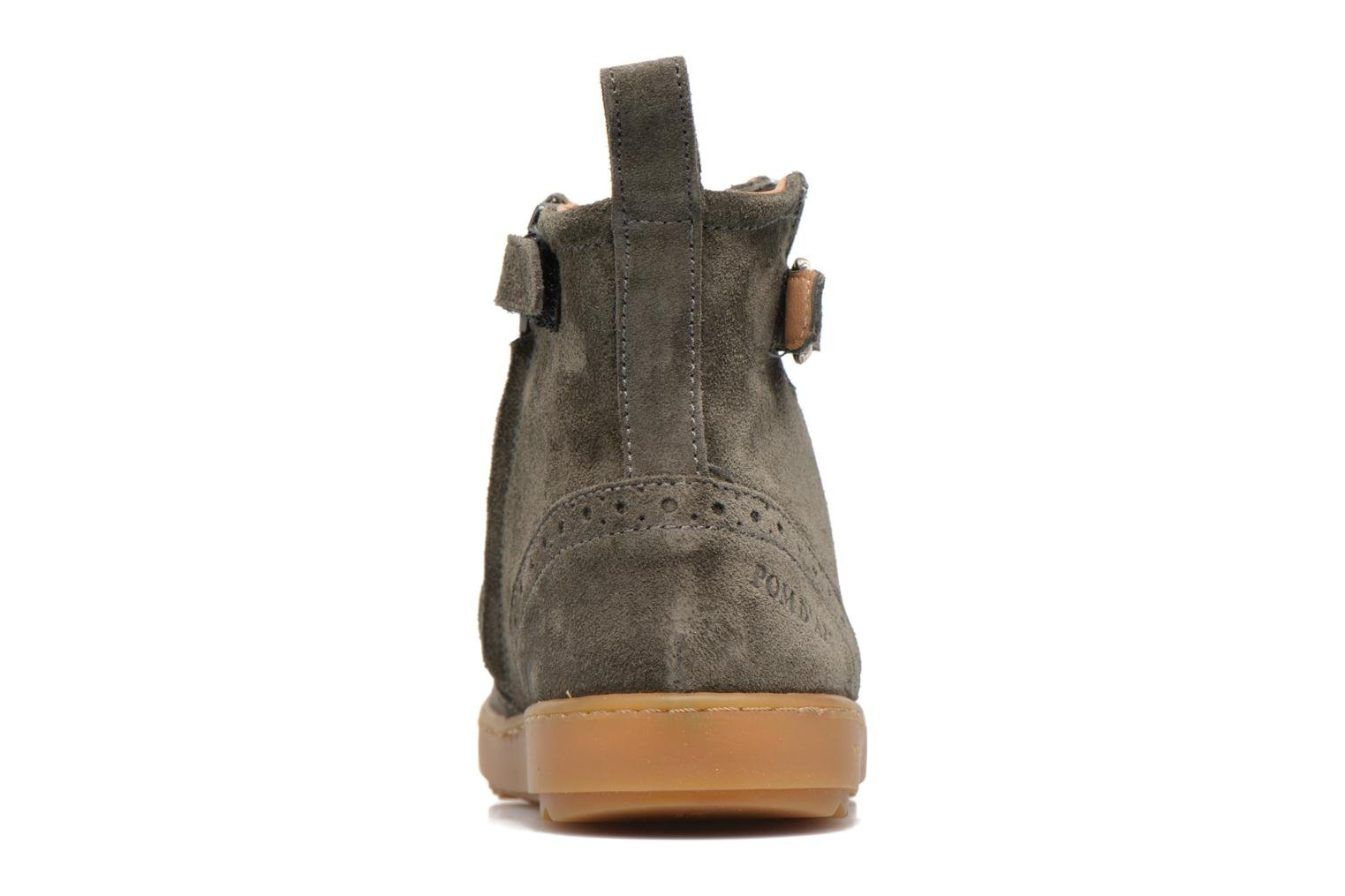 Wouf Boots Velours Army