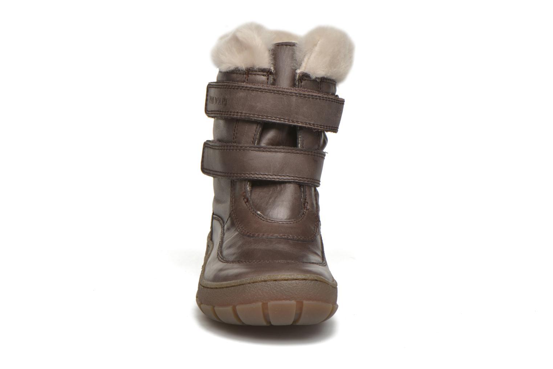 Bottes Pom d Api Piwi Fur Vel Marron vue portées chaussures